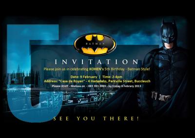 Theme Invitation Design