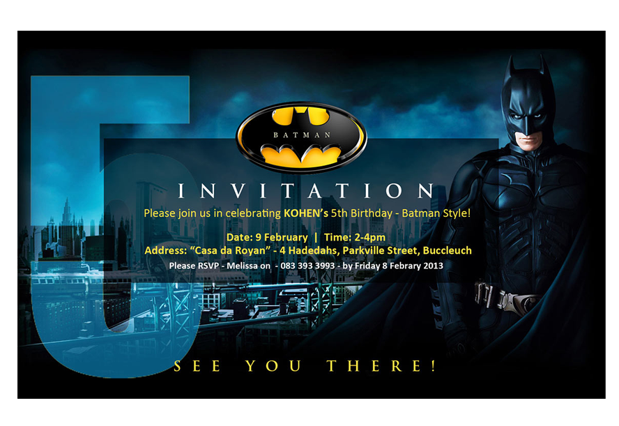 Theme Invitation Design